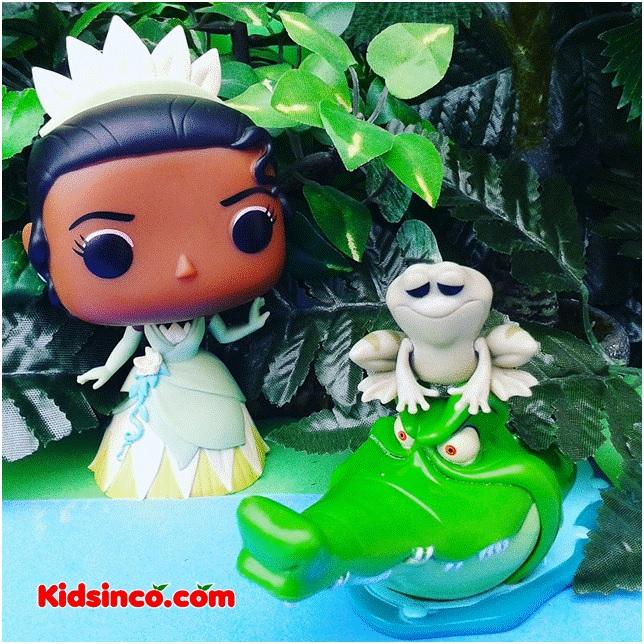 The Princess Frog_king_frog_princess_alligator_Funko_Funko Pop_Funnko Tiana