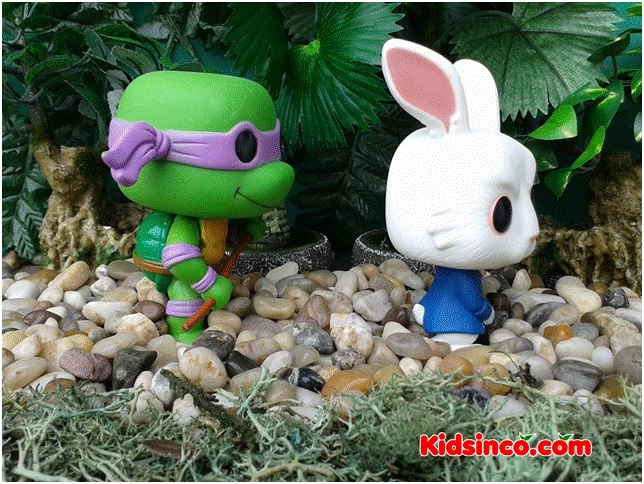 ninja turtle_turtle_rabbit_forest_funko pop_funko