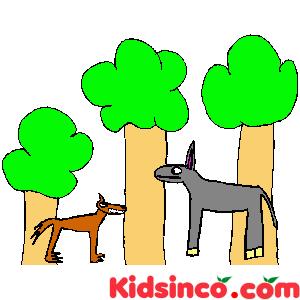 Fox, Wolf clip art