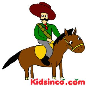 Pancho Villa, Francisco Villa, La Revolucion Mexicana, Mexican Revolution Free Clip Art