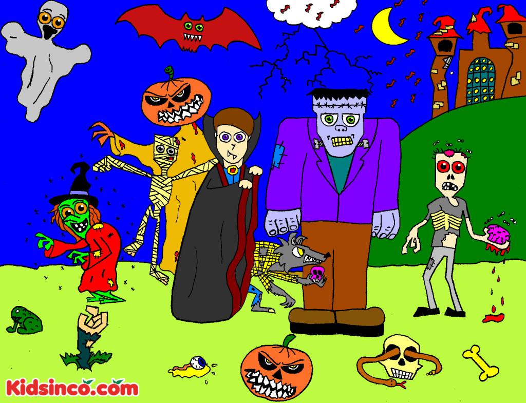 Monsters, Vampire, Warewolf