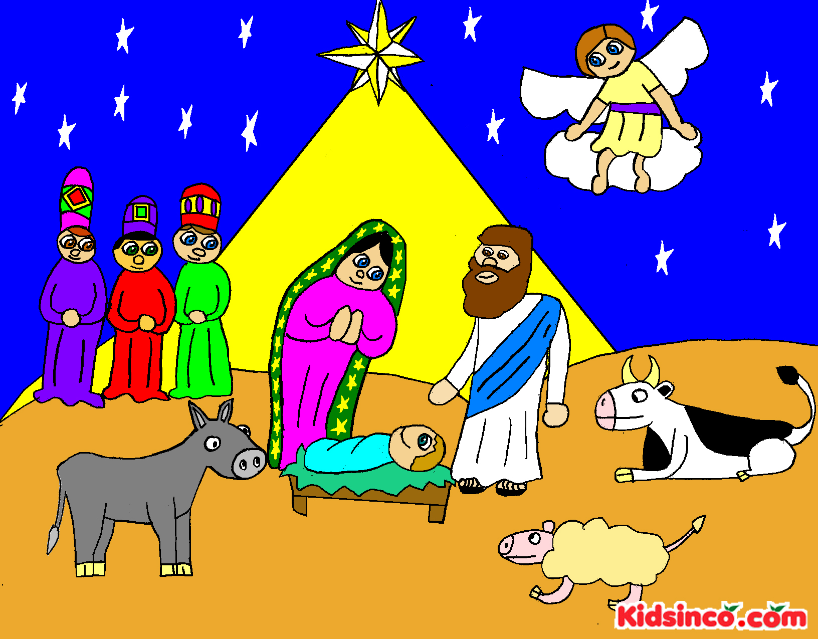 christmas nativity scene silhouette clip art car tuning Car Tuning