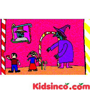 Hansel and Gretel free clip art