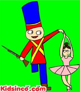 Tin Soldier, Ballerina free clip art
