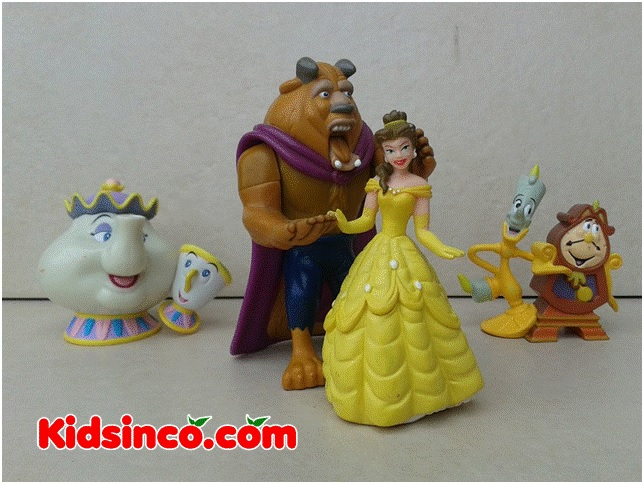 Beauty and the Beast_clock_Mrs.Pots