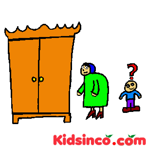 Grandmother, Grandson, closet free clip art