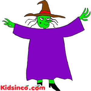Witch free clip art