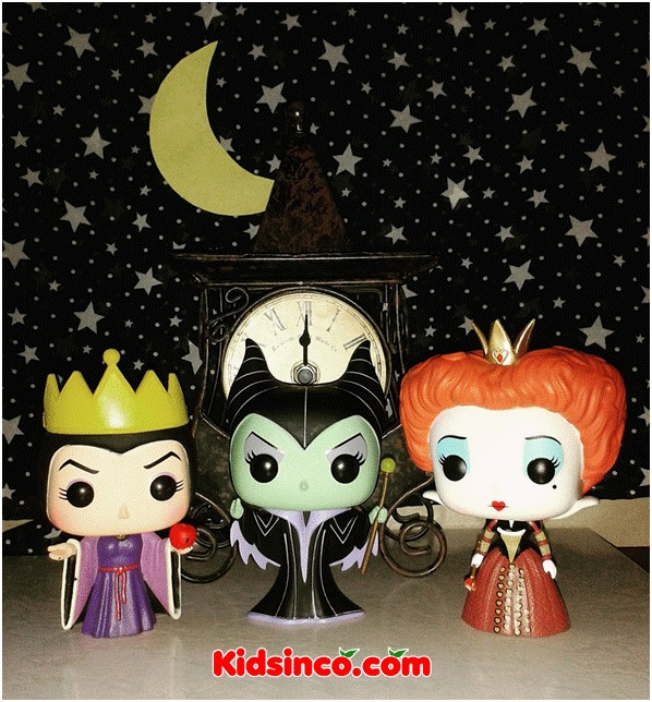 evil queen_maleficent_queen of hearts_queen_Funko_Funko Pop