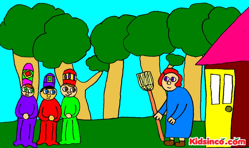 Babushka, The Three Kings, The Wise Man free clip art