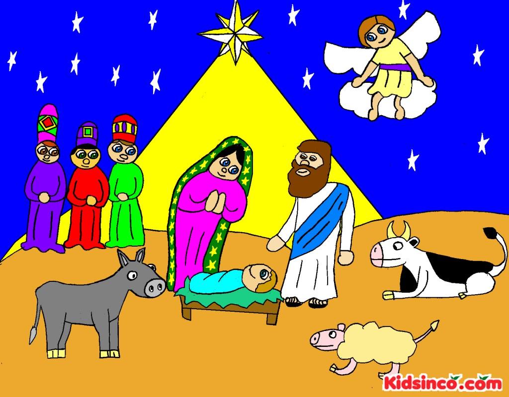 Nativity free clip art