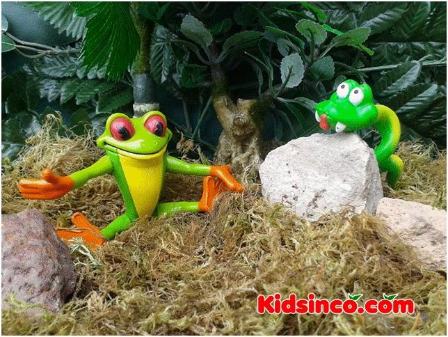 frog_snake_forest_tree