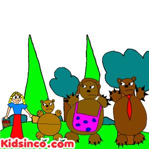 Goldilocks Free clip art, goldilocks image