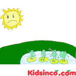 The Frogs and The Sun Free Clip Art