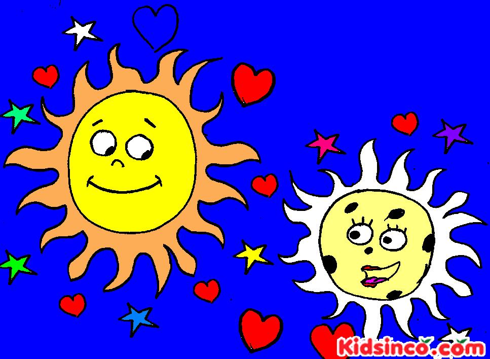 Moon, Sun