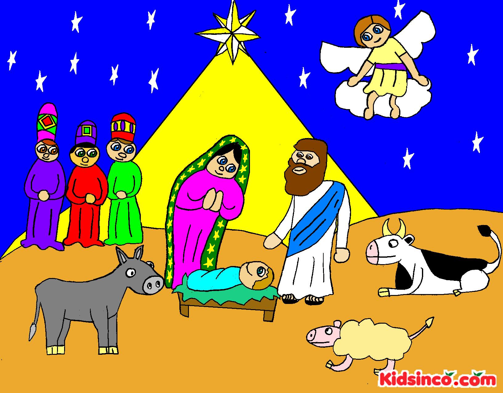 Free Religious Nativity Clip Art