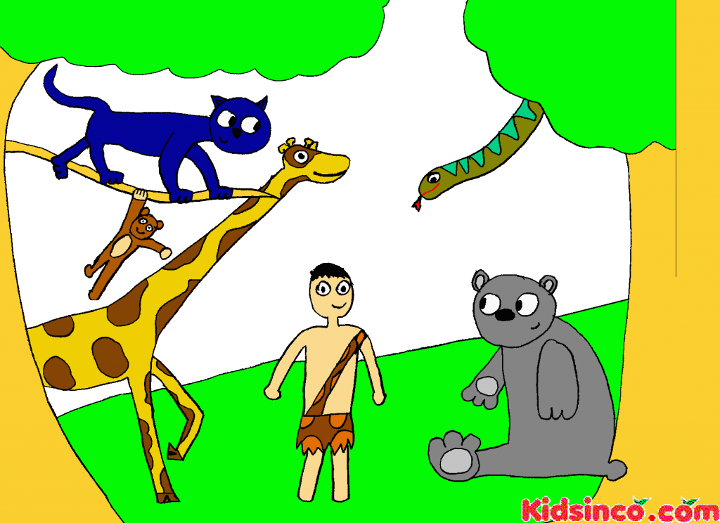 Nino de la Selva, Boy in the Jungle Free Clip art, The Jungle Book Free Clip Art