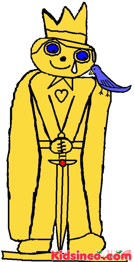 Happy Prince Free Clip Art