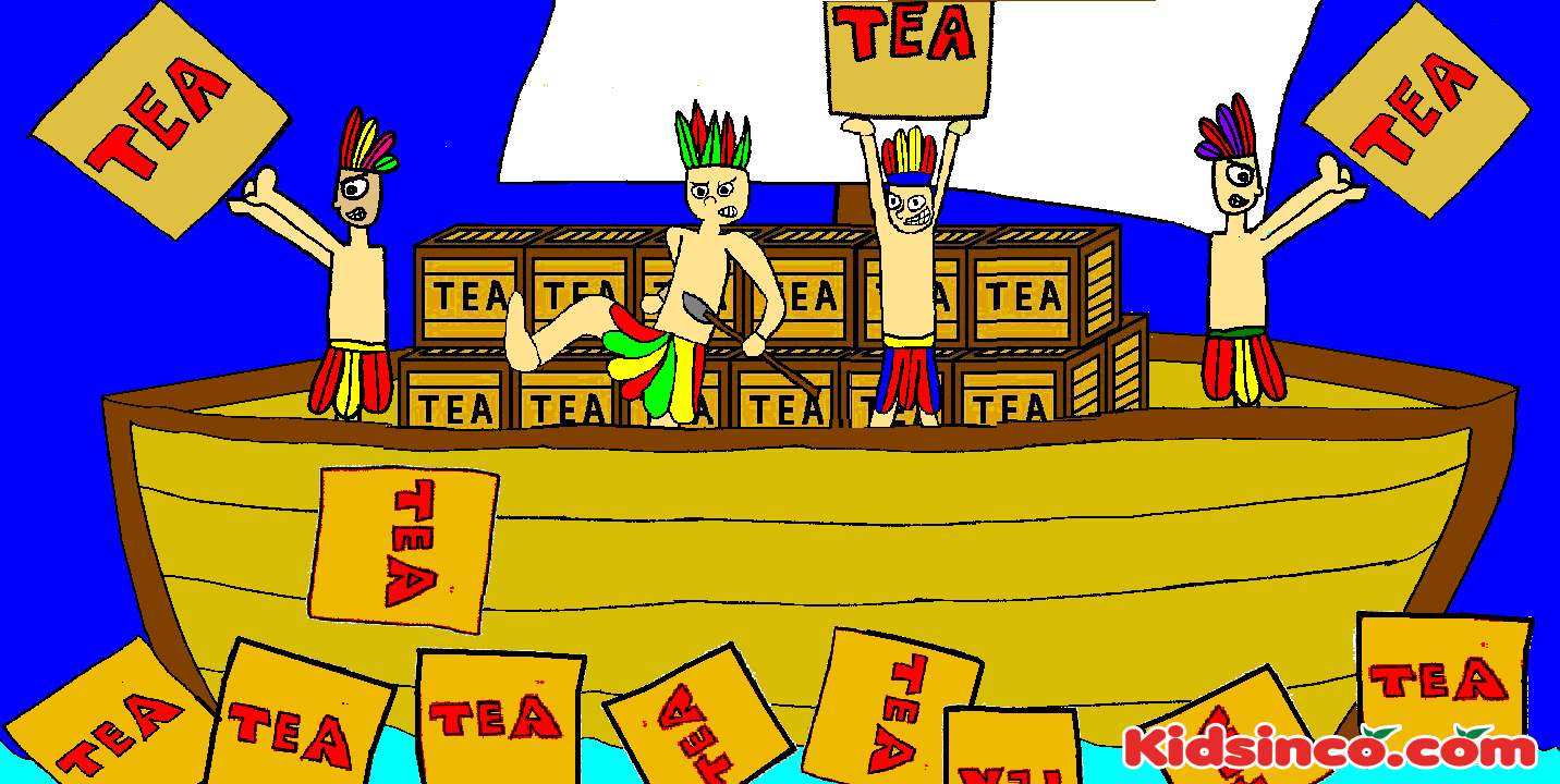 The Boston Tea Party  K I D S I N COcom  Free Playscripts for Kids