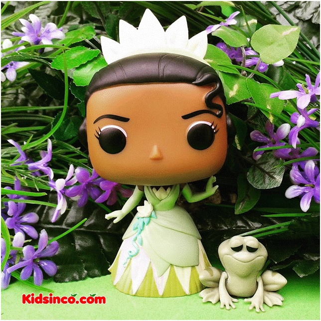 Princess Frog_Tiana_Funko_Funko Pop_frog_princess_girl_kidsinco.com